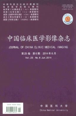 中国临床医学影像杂志