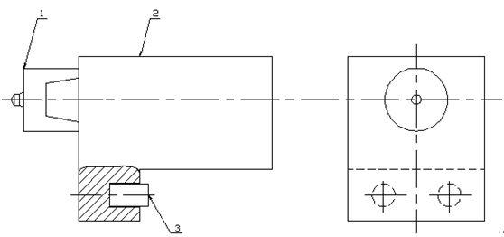 车床电路走线实际图