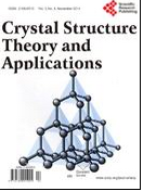 Crystal Structure Theory and Applications 晶体结构理论与应用