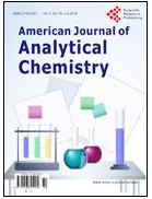 American Journal of Analytical Chemistry美国分析化学杂志