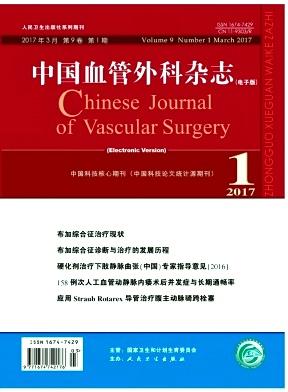 中国血管外科杂志电子版